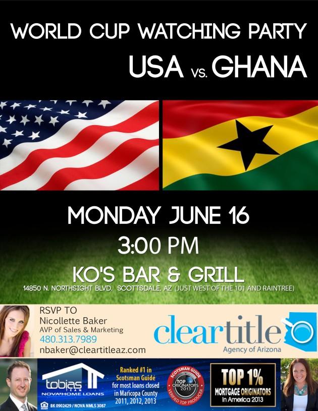 USA vs Ghana 1